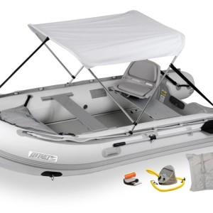 Sea Eagle 12.6SR Sport Runabout Swivel Seat & Canopy Package - 126SRK_SW