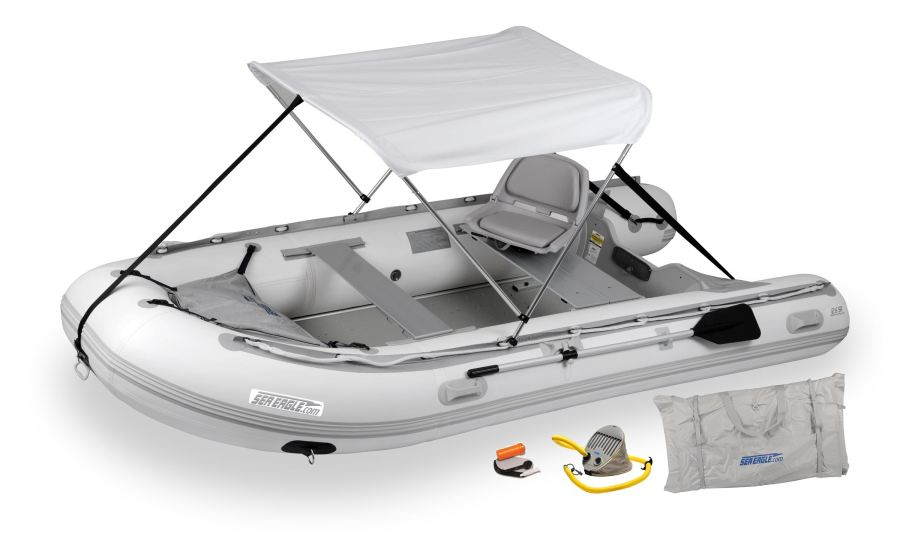 Sea Eagle 12.6SR Sport Runabout Swivel Seat & Canopy Package