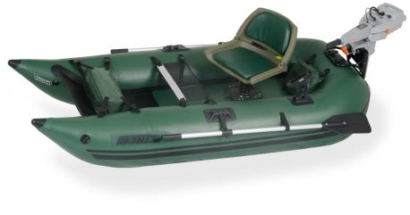 Sea Eagle 285FPB Frameless Pontoon Boat Ultimate Package - 285FPBK_U