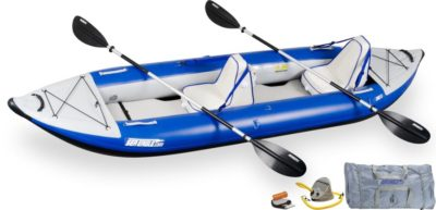 Sea Eagle 380X Explorer Kayak Deluxe Package