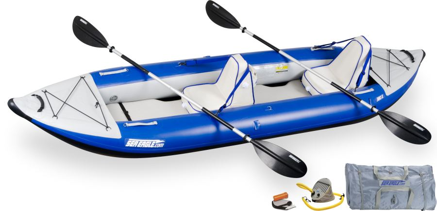 Sea Eagle 380X Explorer Kayak Deluxe Package