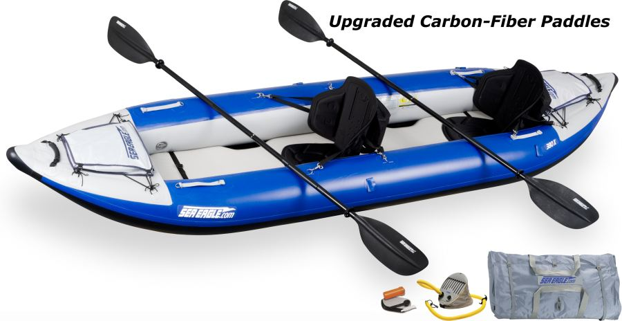 Sea Eagle 380X Explorer Kayak Pro Carbon Package