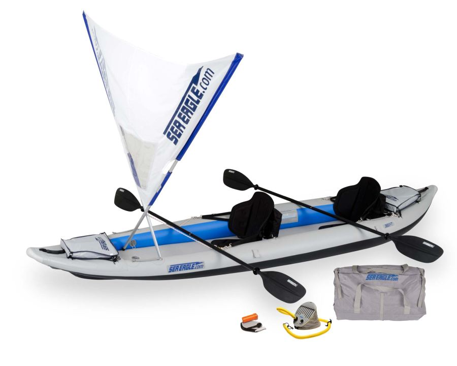 Sea Eagle 385FT FastTrack QuikSail Package