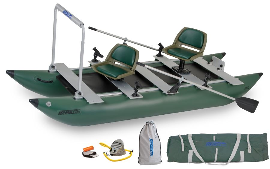 Sea Eagle 375FC FoldCat Pro Angler Package