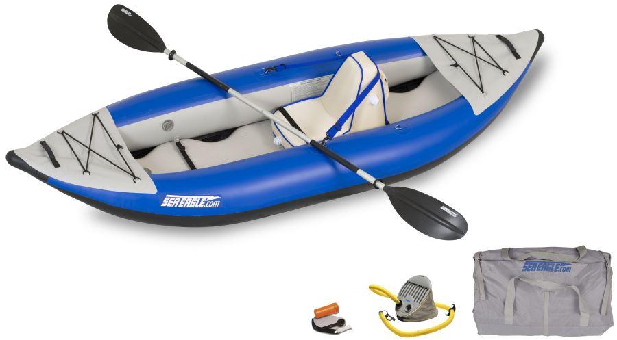 Sea Eagle 300X Explorer Kayak Deluxe Package