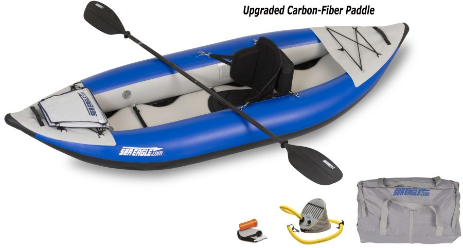 Sea Eagle 300X Explorer Kayak Pro Carbon Package