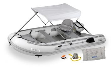 Sea Eagle 12.6SR Sport Runabout Swivel Seat and Canopy Package