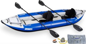 Sea Eagle 380X Explorer Kayak Pro Package Inflatable Kayak