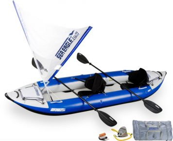 Sea Eagle 380X Explorer Kayak QuikSail Package