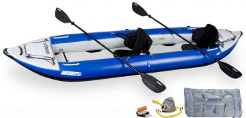 Sea Eagle 420X Explorer Kayak Pro Package