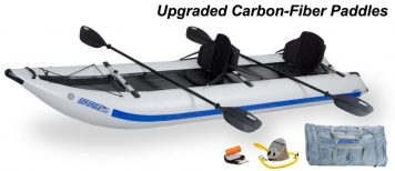 Sea Eagle 435PS PaddleSki Pro Carbon Package