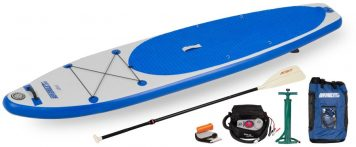 Sea Eagle LB11 LongBoard Electric Pump Package
