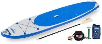 Sea Eagle LB126 LongBoard Electric Pump Package