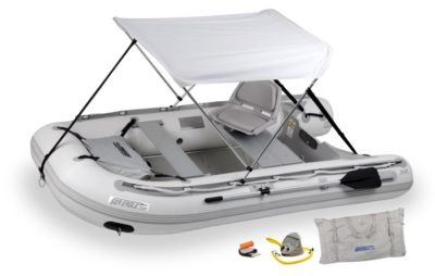 Sea Eagle 10.6SR Sport Runabout Swivel Seat and Canopy Package - 106SRKSWC