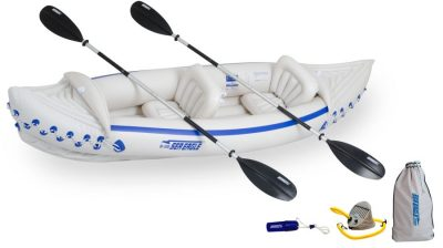 SE330K_D Sea Eagle SE330 Sport Kayak Deluxe Package