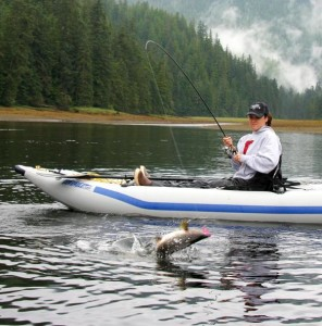 PaddleSki Fishing