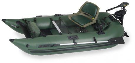 Sea Eagle 285FPB Frameless Pontoon Boat Motor Package