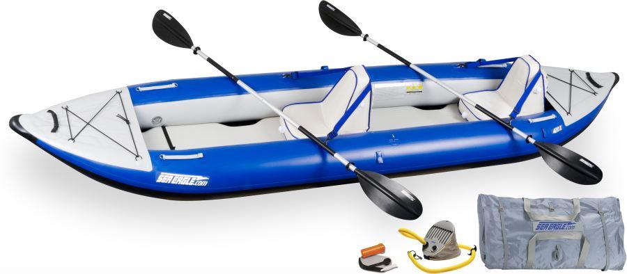 Sea Eagle 420X Explorer Kayak Deluxe Package
