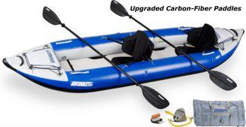 Sea Eagle 380X Explorer Kayak Pro Carbon Package