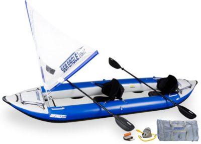 Sea Eagle 420X Explorer Kayak QuikSail Package