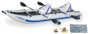 Sea Eagle 435PS PaddleSki Deluxe Package Inflatable Kayak