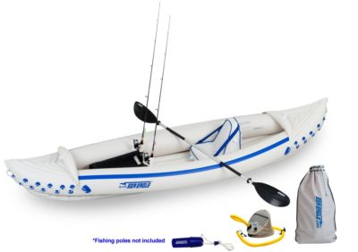 Sea Eagle SE370 Inflatable Sport Fishing Kayak - SE370KSF